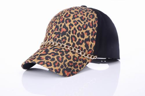 Leopard print hat is a tie-in first choice e248525fe9c