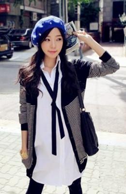 blue fashionable beret 89f9054e3ca